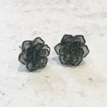 Load image into Gallery viewer, Out Of This World Galaxy and Sparkle Succulent stud earring set - Bold & Bright Boutique