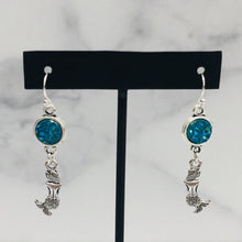 Load image into Gallery viewer, Sparkle Mermaid Dangle Earrings - Multiple Colors - Bold & Bright Boutique
