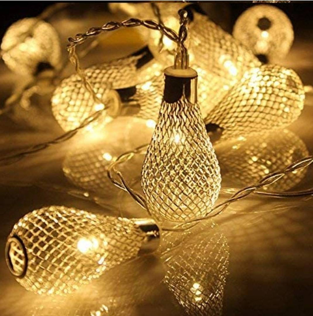Decorative Metal Drop 3 Meter 16 Led String Lights - MYLAZYKART