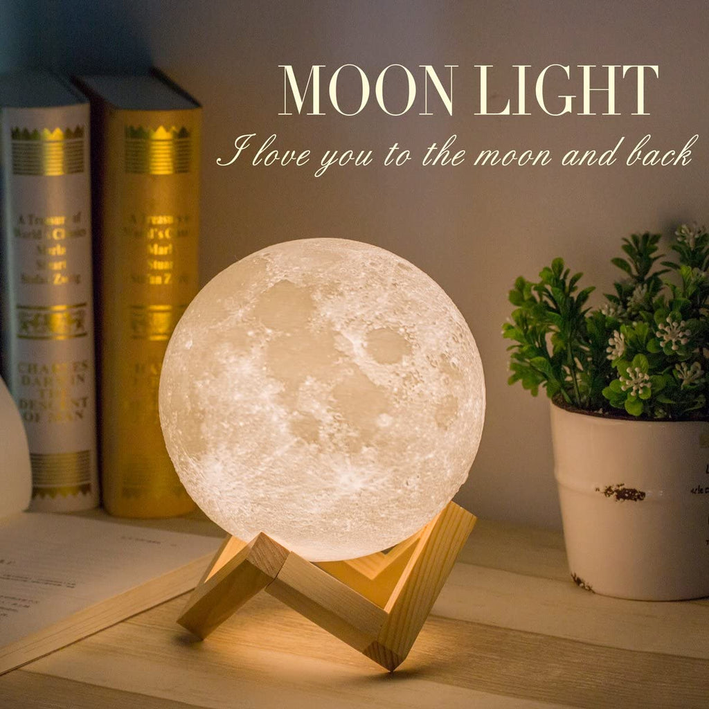 Moon Lamp Moon Light Night Light - MYLAZYKART