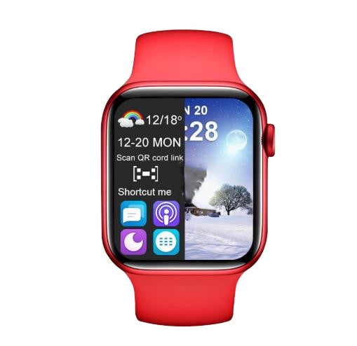 T55 + PLUS SERIES 6 FULL DISPLAY SMART WATCH (FEB 2021 LAUNCH ) - MYLAZYKART