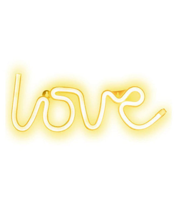 Love Neon LED Light Sign for Room Decoration - MYLAZYKART