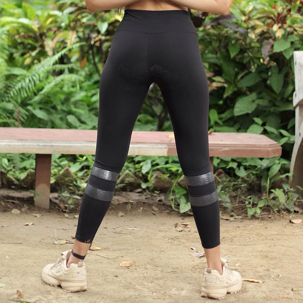 MLK Calf Stripe Yoga Pants - MYLAZYKART