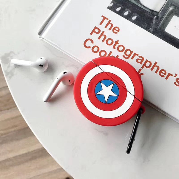 Captain America Airpod Case - MYLAZYKART