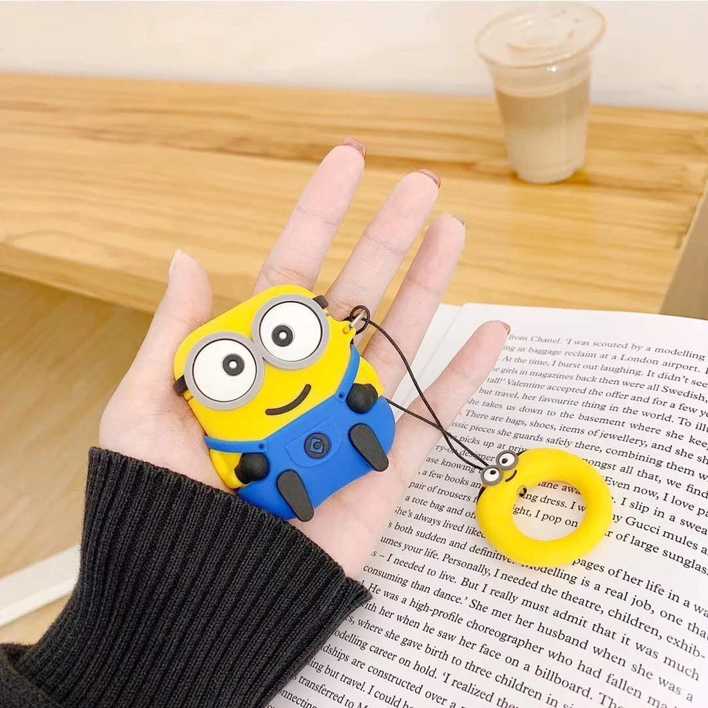 Cute Minions Airpod Case - MYLAZYKART