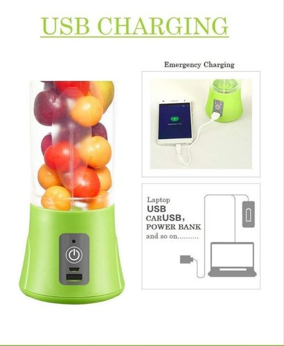 Portable Juice Blender with Inbuilt Power Bank - MYLAZYKART