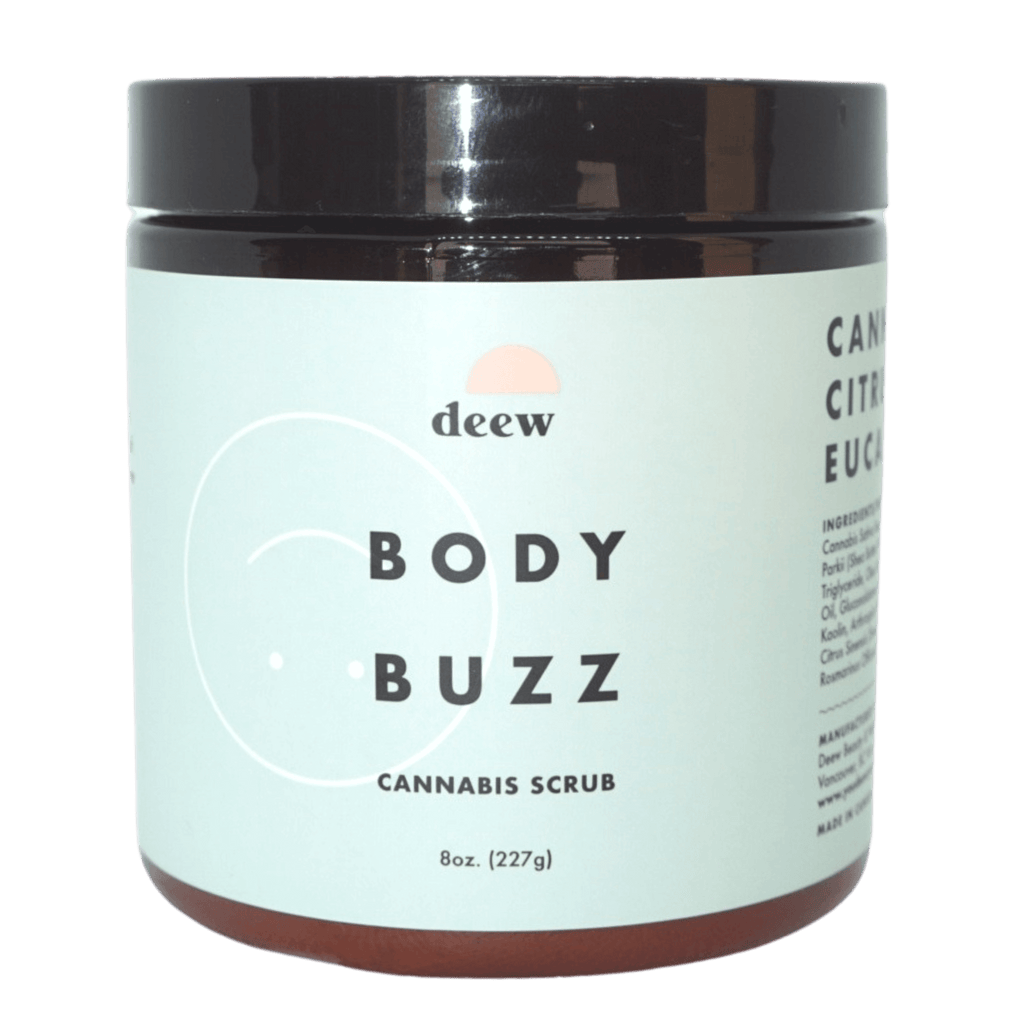 Body Buzz Cannabis Scrub by You Deew You