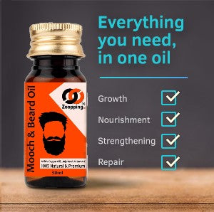Zoopping Beard Growth Oil