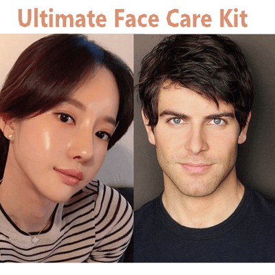 Zoopping Ultimate Face Care Kit | Vitamin C- Face Serum+ Face Wash+ Face Cream + Night Gel + Lip Serum Oil