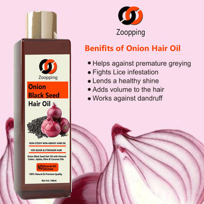 Zoopping Onion Black Seed Hair Oil Buy 1 Get 1 Free