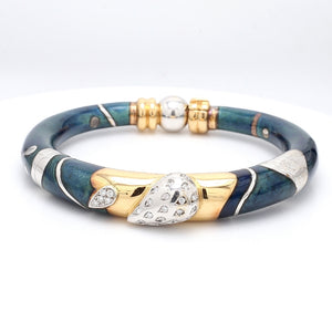 La Nouvelle Bague, Diamond and Enamel Bracelet