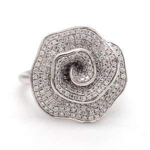 1.06ctw Round Brilliant Cut Diamond RIng