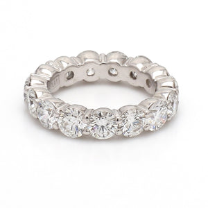 SOLD - 5.20ctw Round Brilliant Cut Diamond Eternity Band