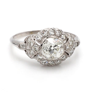 SOLD - 0.50ct Old Mine Cut Diamond Ring