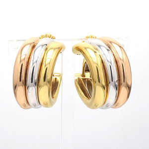 Cartier, Trinity Hoop Earrings