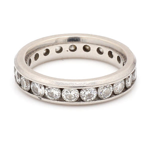 SOLD - 2.20ctw Round Brilliant Cut Diamond Eternity Band