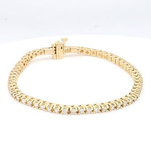 1.15ctw Round Brilliant Cut Diamond Tennis Bracelet