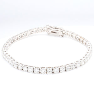 8.25ctw Round Brilliant Cut Diamond Tennis Bracelet
