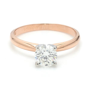 SOLD - 1.01ct H I1 Round Brilliant Diamond, Solitaire Ring - GSI Certified