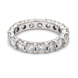 3.25ctw Round Brilliant Cut Diamond Eternity Band