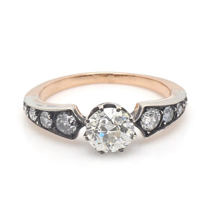 1.06ct Old European Cut Diamond Ring