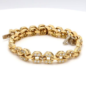 1.00ctw Round Brilliant Cut Diamond Bracelet