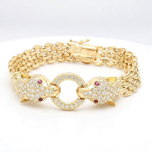 3.00ctw Round Brilliant Cut Diamond Bracelet