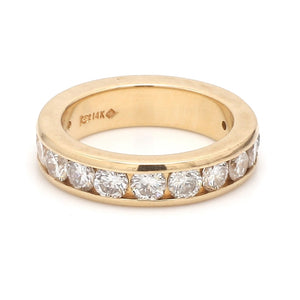 1.25ctw Round Brilliant Cut Diamond Band