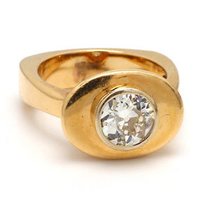 SOLD - 1.80ct Old European Cut Diamond Ring