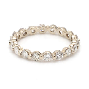 SOLD - 1.90ctw Round Brilliant Cut Diamond Eternity Band