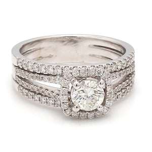 0.60ct Round Brilliant Cut Diamond Ring