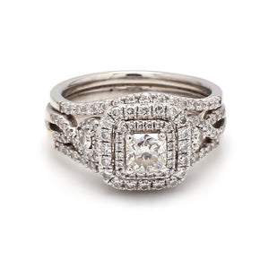 0.52ct I SI2 Radiant Cut Diamond Ring - AGS Certified
