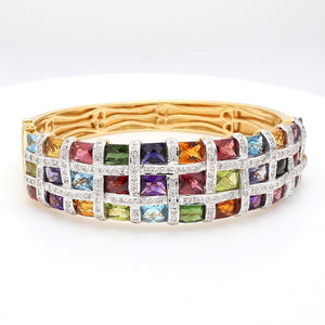 Bellarri, Mixed Gemstone and Diamond Bracelet - Mosaic