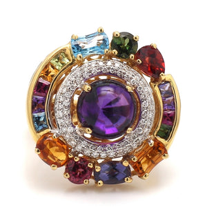 Bellarri, Mixed Gemstone and Diamond Ring - Dutchess