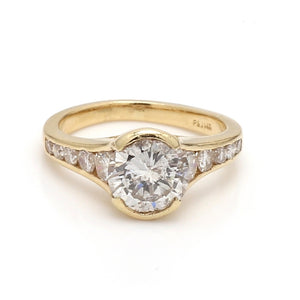 1.50ct Round Brilliant Cut Diamond Ring