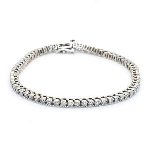 2.30ctw Round Brilliant Cut Diamond Tennis Bracelet