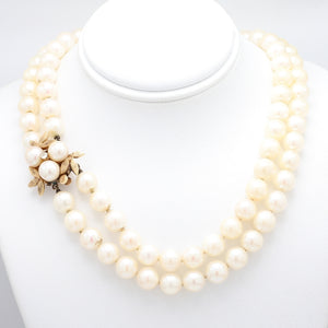 Double-Strand, Pearl Necklace