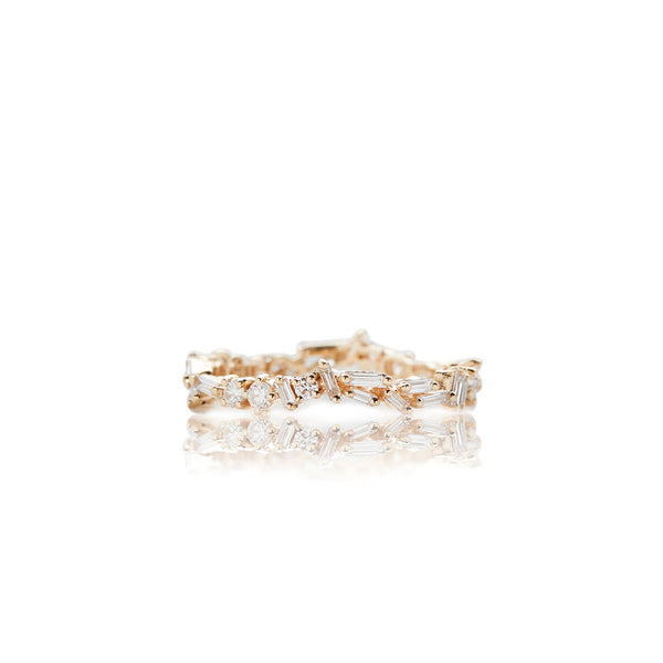 Gold Fireworks Ring - Sofia Jewelry