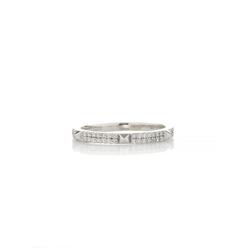 White Gold Diamond Rings For Women - Sofia Jewelry