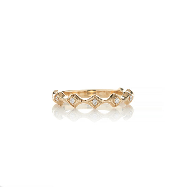 Gold Diamond Rings For Women - Sofia Jewelry