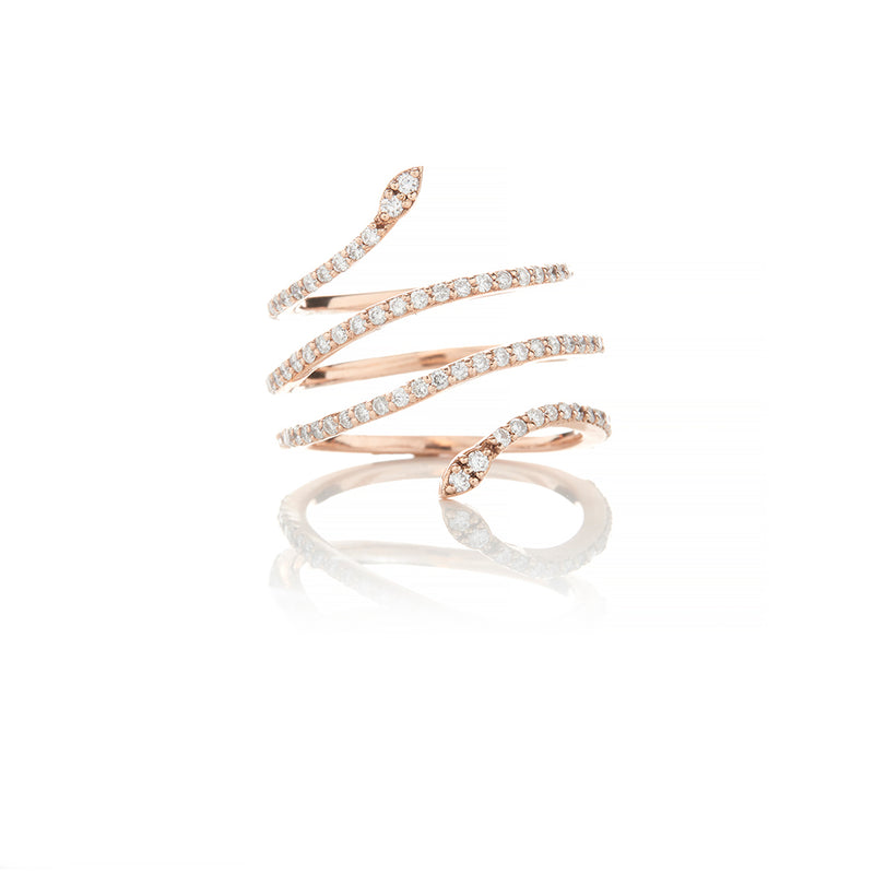 Rose Gold Diamond Rings For Women - Sofia Jewelry
