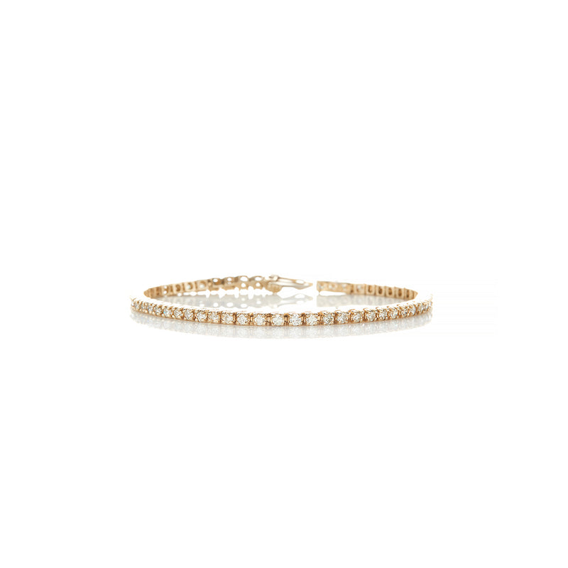 Gold Diamond Tennis Bracelet - Sofia Jewelry