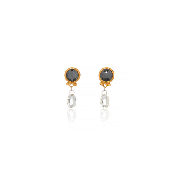 Gold Stud Earrings - Sofia Jewelry