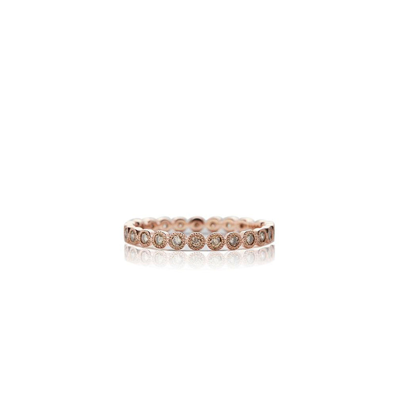 Rose Gold Anniversary Band - Sofia Jewelry