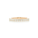 18 Karat Gold Medium Prong Set Band