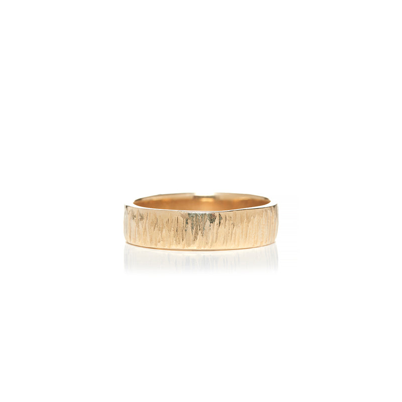 Straight Hammered Mens Wedding Bands - Sofia Jewelry
