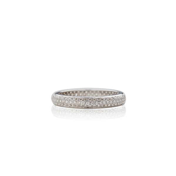 Diamond Tire Anniversary Band - Sofia Jewelry