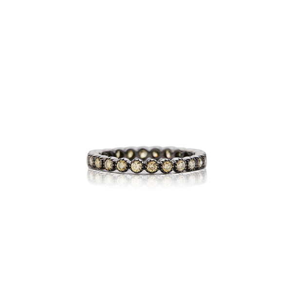 Diamond Bezel Band - Sofia Jewelry