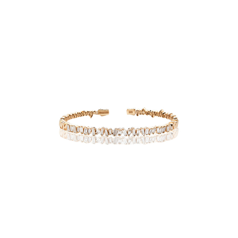 Yellow Gold Diamond Bracelet - Sofia Jewelry