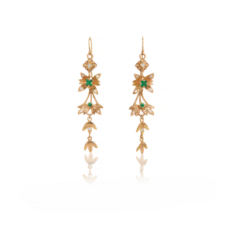 Gold Earrings - Sofia Jewelry
